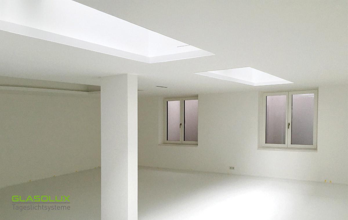 Begehbare Deckenfenster für Tageslicht im Keller
