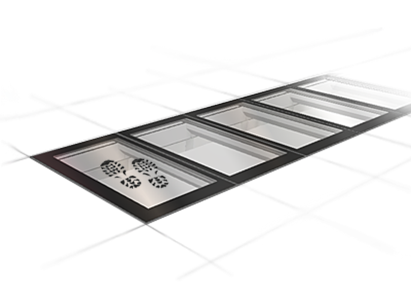 LINEAR WALK-ON: the walk-on continuous rooflight