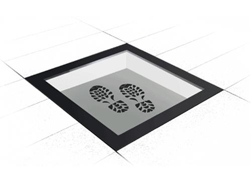 Walk-On rectangular skylight